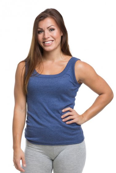 Flex Top Dove Blue