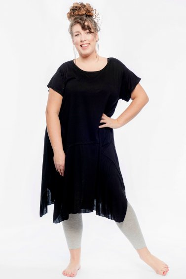 Umbrella Dress Eco Black