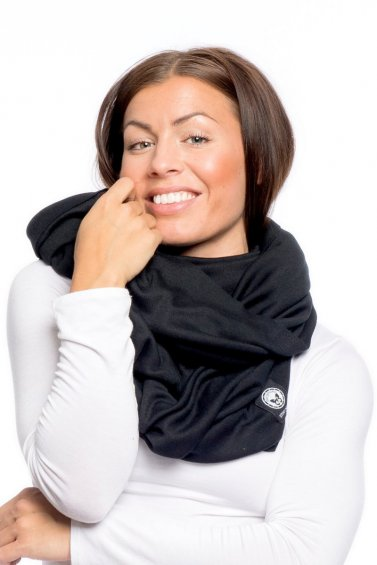 Hug Scarf Eco Black