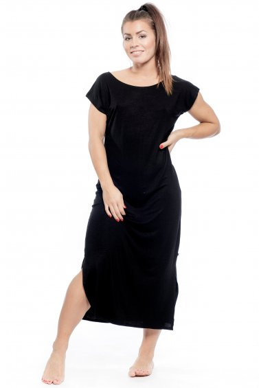 Thea T-Shirt Dress Black