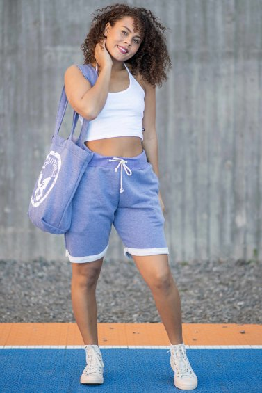 Sweat Shorts New Indigo Blue