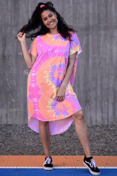 Kaftan Dress New Pink Base