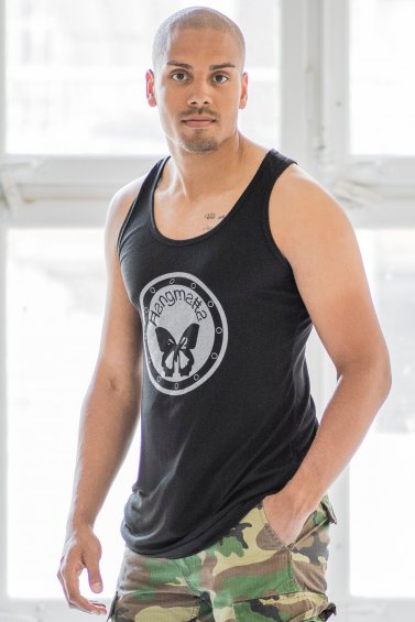 Loose Fit Top Logo Man Eco Black