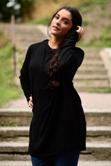 Ruby Dress Long Black