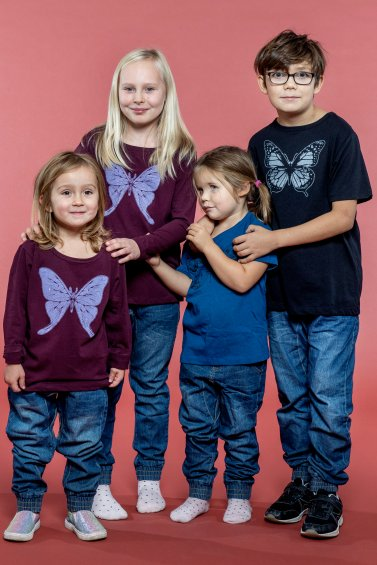Soft Denim Kids Blue