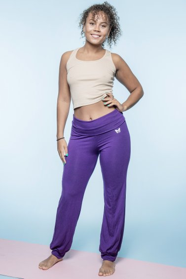 Yoga Stretch Purple