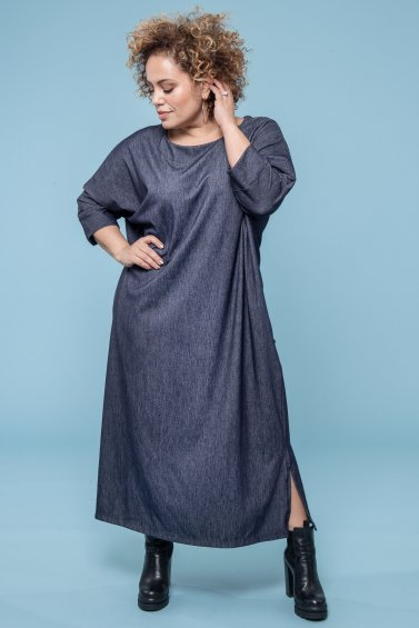 Hug Me Dress Darkgrey