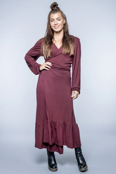 Lou Dress Plum
