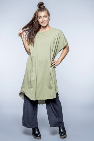 Kaftan Dress New Eco Olive Green