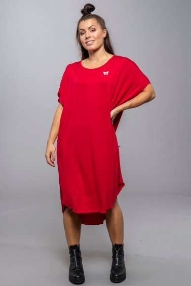 Avery Dress Red