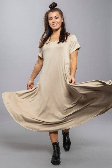 Ballerina Dress Beige