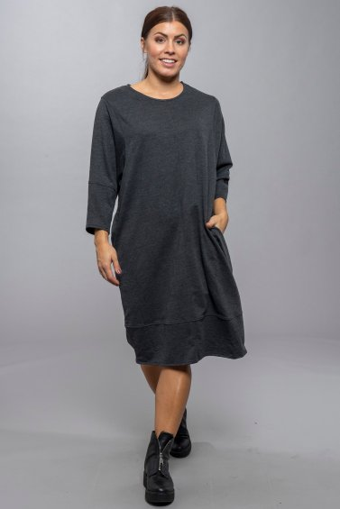 Wai Dress New Grey
