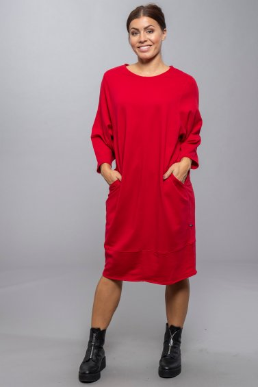 Wai Dress New Red