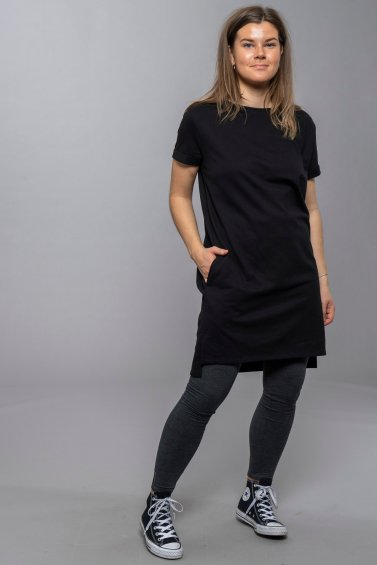Wai Dress Short Black