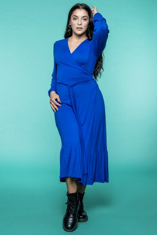 Lou Dress Royal Blue