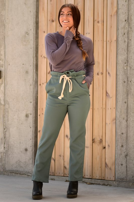 Riley Pant Forest Green