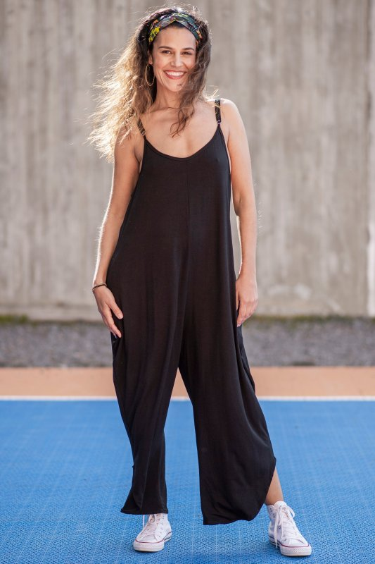 Benoki Jumpsuit Black