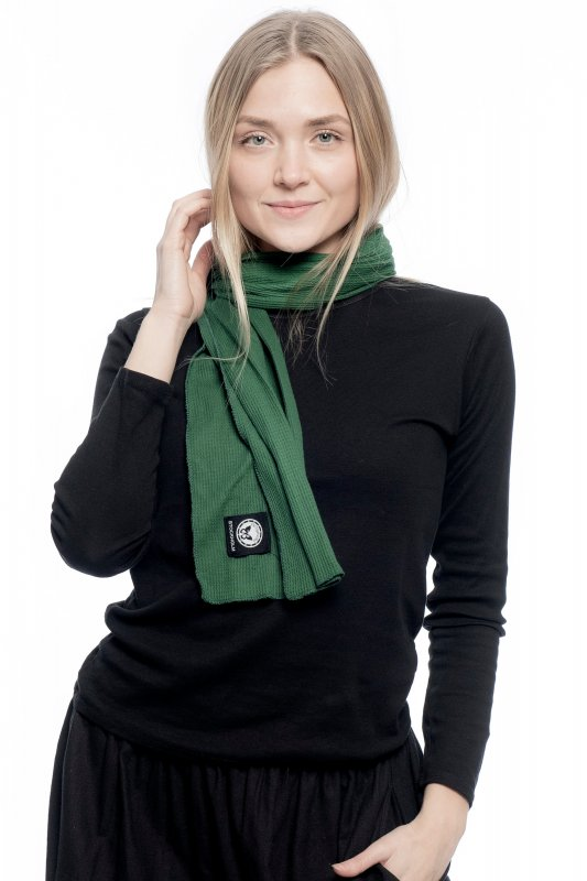 Simple Scarf Green