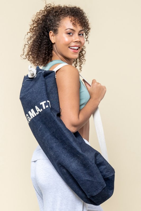 Yoga Bag Denim Blue
