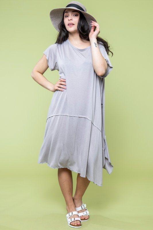 Umbrella Dress Eco Warmgrey