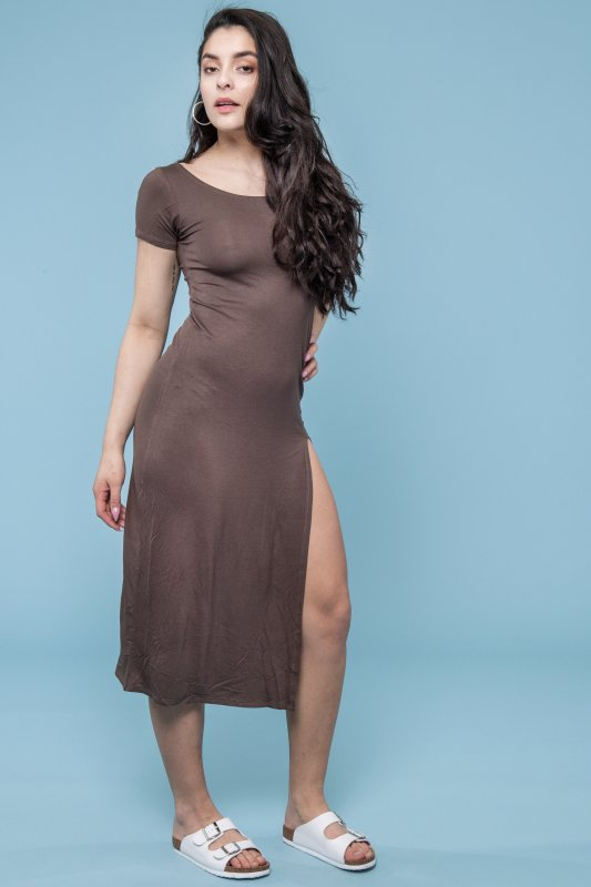 Livia Dress Coffee