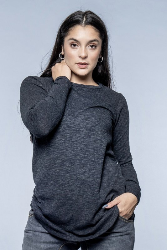 Nina Shirt Darkgrey