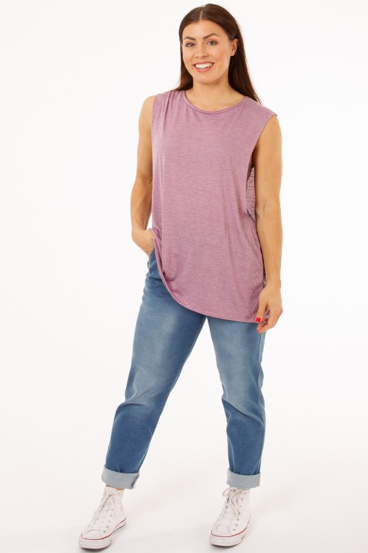 Loose Top Rio Purple